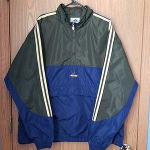 Adidas Pullover Half Zip Windbreaker